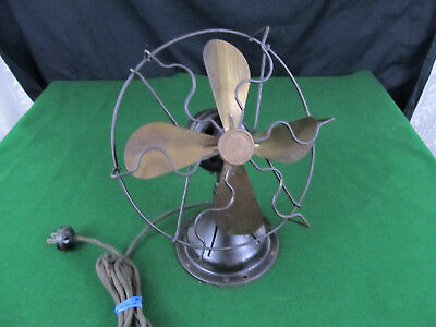 Antique SEARS ROEBUCK Electric Fan COLD WAVE 8 Inch Restoration Project