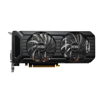 Palit GeForce GTX 1070 Dual Fan 8GB GDDR5 PCIe DVI, HDMI, 3x DP (NE51070015P2D)