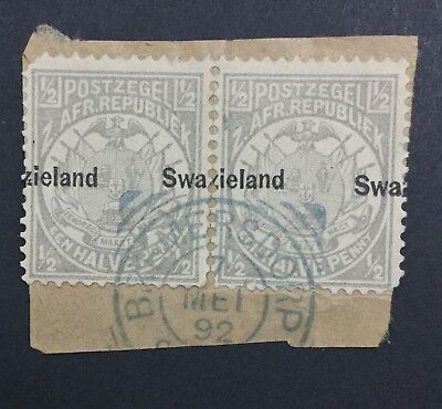Momen: Swaziland #4 Var. Used £ Lot #6197
