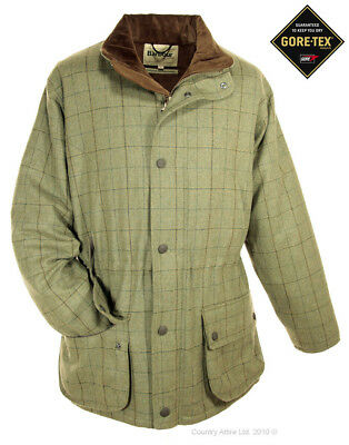 Barbour Men's Sporting Lightweight Washable Tweed Shooting Jacket - Green Check