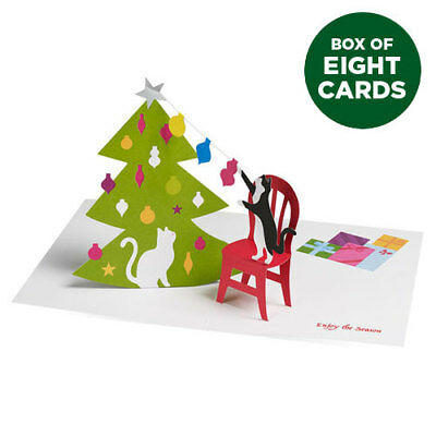 Moma christmas cards holiday cards sweet holiday wishes qty 8 moma 3d pop up holiday card christmas cats box of 8 moma m4hsunfo