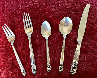 Royal Danish by International Silver 45 Pieces Sterling, 80 Years Old, Fabulous