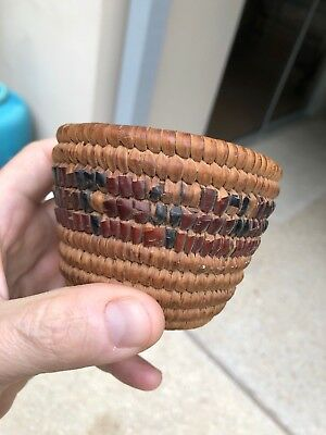 Neat Old Small Native American Indian Basket