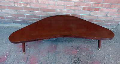 1960s 70s Vintage Mid Century Kidney Shaped Coffee Table 54 169 99 Picclick