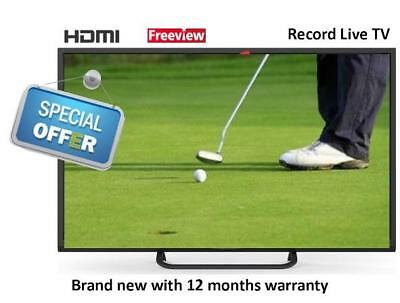 32 inch TV Freeview HD Ready with PVR New Seizo (Seiki)