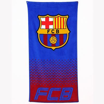 Fc Barcelona Beach & Bath Towel New Official