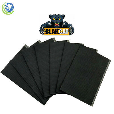 Black Bibs Tattoo Piercing Dental Surgical Medical Disposable In 50/100/500 Unit
