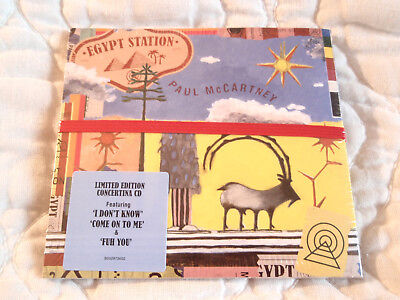 Paul Mccartney Egypt Station Cd New Limited Edition Concertina Digipak Beatles