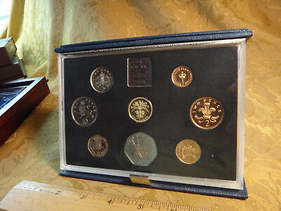 1984 UK Great Britain Complete Mint Proof Coin Set - Free S&H USA