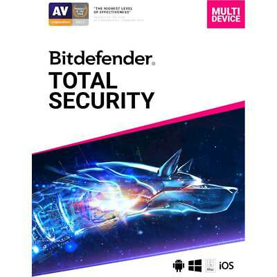 Bitdefender Total Security 2019 (5-Device) (1-Year Subscription) - Android|Ma...