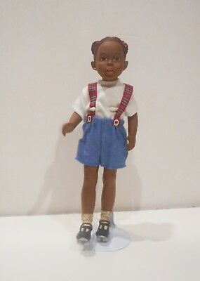 All God's Children Skating Anika, Poseable Doll, New With Certificate