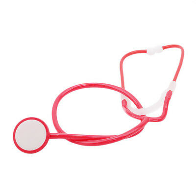 Children Medical Doctor Pretend Play Stethoscope Kids Educational Toy Tool LD