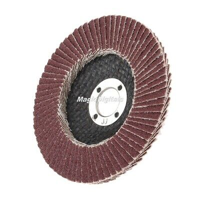 Abrasive Flap Grinding Sanding Disc Wheel 80 120 240 320 Grit For Angle Grinder