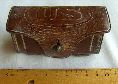 orig.Spanish- American War US Rock Island Arsenal cal .38 ammo cartridge Box