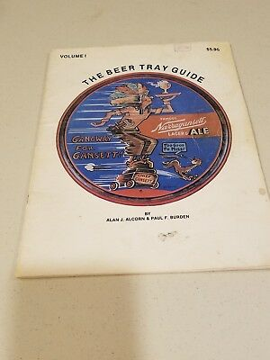 The Beer Tray (Collector's) Guide by Alcorn & Burden Issue #1 1979 Scarce!