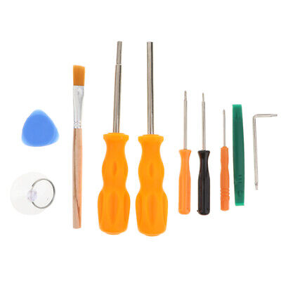 10 in 1 Security Screwdriver Set Repair Tool for Xbox 360 One PS4 Controller
