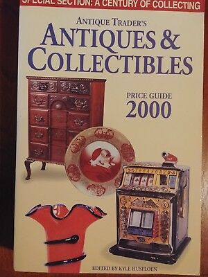 Antiques & Collectibles Book Antique Trader's By Kyle Husfloen Price Guide 2000