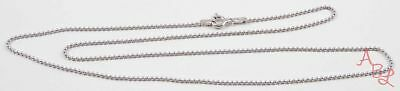 """Charles Garnier Sterling Silver 925 Ball Beaded Necklace 18"""" (2.3g) - 737175"""