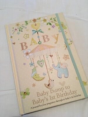 ** Pregnancy to Baby's 1st birthday Journal Record Book - Brand new, never used*
