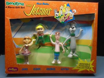The Jetsons BendEms toy JusToys  4 piece gift set New in Box