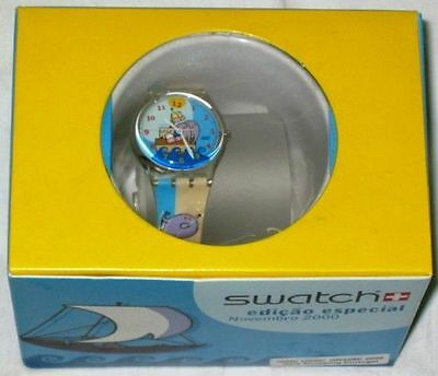 Swatch special 2000 Gaia Shopping Center (Grr! Oink!)