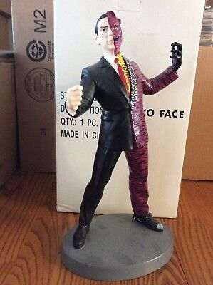 Warner Brothers Two Face Statue From Batman Forever. Great Cond, Must See!!!