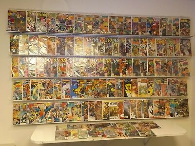 Huge Lot 130+ comics X-Men, Wolverine, Eternals and more avg FN/VF condition