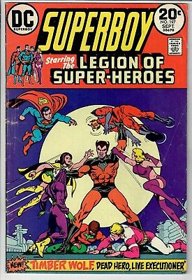Superboy starring the Legion of Super-heroes #197- Additional items SHIP FREE!!!