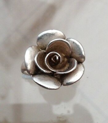 Silver Rose Ring Gorgeous(M)
