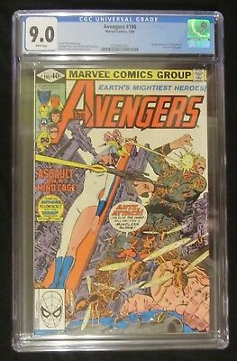 Avengers #195 CGC 9.0..1st Taskmaster..Ant-Man/Yellow Jacket/Wasp Join 1st time