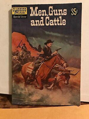 Classics Illustrated Special Issue Dec.1959 Men, Guns and Cattle