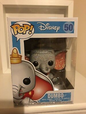 Funko POP! Vinyl Dumbo Diamond Collection (Glitter) Exclusive - UK Seller