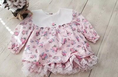 Vintage Jolene Toddler Girls Floral dress Size 24 months
