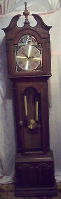 CHICAGO Local pickup_ Grandfather Clock 6ft Canterbury Tempus Fugit PARTS/REPAIR