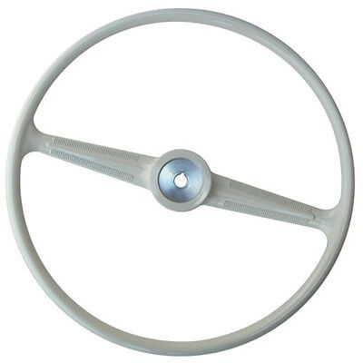VW Type 2 Vintage Steering Wheel 1955 - 1967 (Grey) by FLAT 4