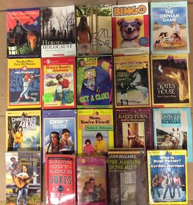 Lot of 20 Chapter Scholastic Disney RL 2 3 4 5 Child Books AR MIX UNSORTED #E64