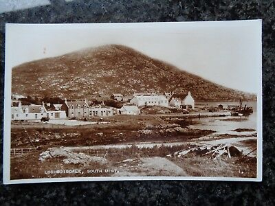 Lochboisdale - South Uist - Hebrides - Sepia RP - Unused - Fine