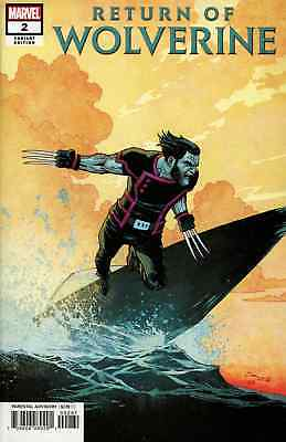Return Of Wolverine 2 Declan Shalvey Variant Nm Pre-Sale 10/24