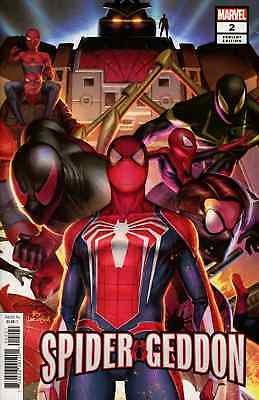 Spider-Geddon 2 In-Hyuk Lee Connecting Variant Amazing Spiderman Pre-Sale 10/24