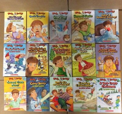Lot of 15 Ready Freddy Abby Klein Scholastic Chapter Series Set Kids Books F40