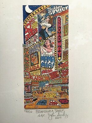 John Suchy Broadway Sights NYC 3-D Pop Art Signed & Numbered New York