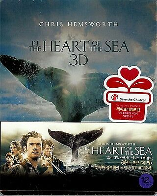 In the Heart of the Sea Limited Edition SteelBook (Region Free Korea Import)