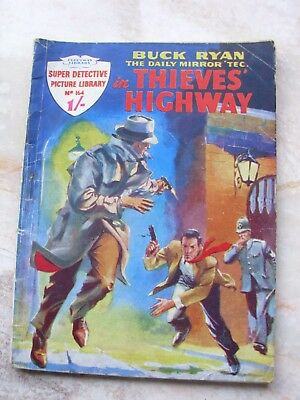 SUPER DETECTIVE LIBRARY #164 thieves highway 1959
