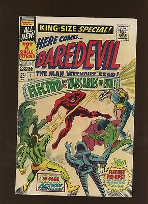 Daredevil Annual 1 FN 6.0 * 1 Book Lot * 1st Emissaries of Evil! Lee & Colan!