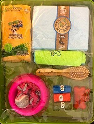 Greenbone PUPPY STARTER KIT in Pink or Blue - 16 Pieces Big Value