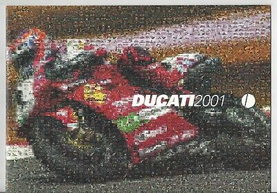 Ducati 2001 Catalog Brochure Motorcycle Desmo 996 748 ST4 Monster Superbike