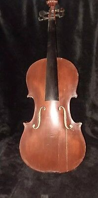 Antique German Antonius Stradivarius Violin For Repair