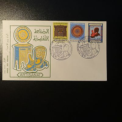 ALGERIA N°495/497 ON LETTER COVER 1st DAY FDC