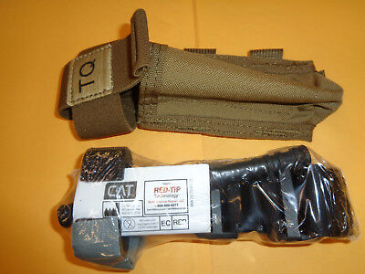 Gen 7 Combat Application Tourniquet (CAT) RED TIP w/ LBT-6049F Tourniquet Pouch
