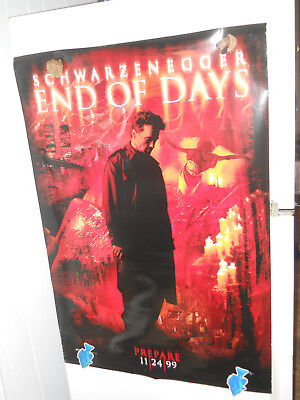 End of Days Truman Show Snake Eyes Double Sided Original Movie 4 Posters 27x40
